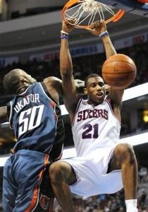 Bobcats 76ers Basketball