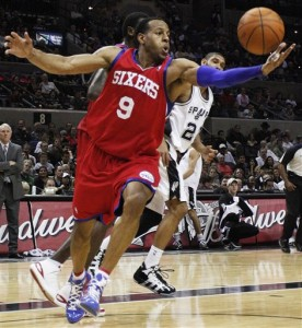 76ers Spurs Basketball