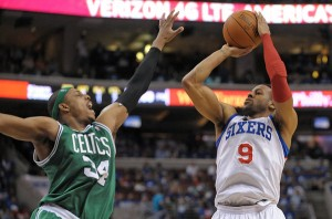 NBA: Playoffs-Boston Celtics at Philadelphia 76ers
