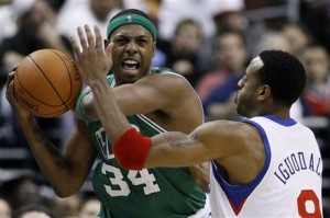 Andre Iguodala, Paul Pierce