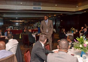Philadelphia 76ers Thaddeus Young  held its first annual Young f